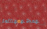Red Spiderweb - Backdrop Shop