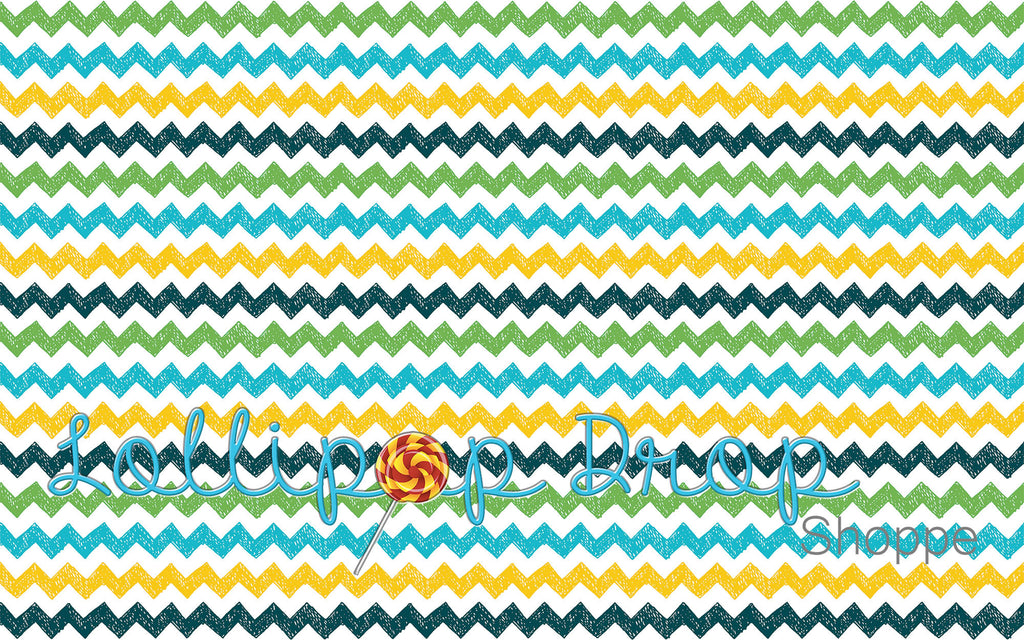 School Boy Chevron - Backdrop Shop