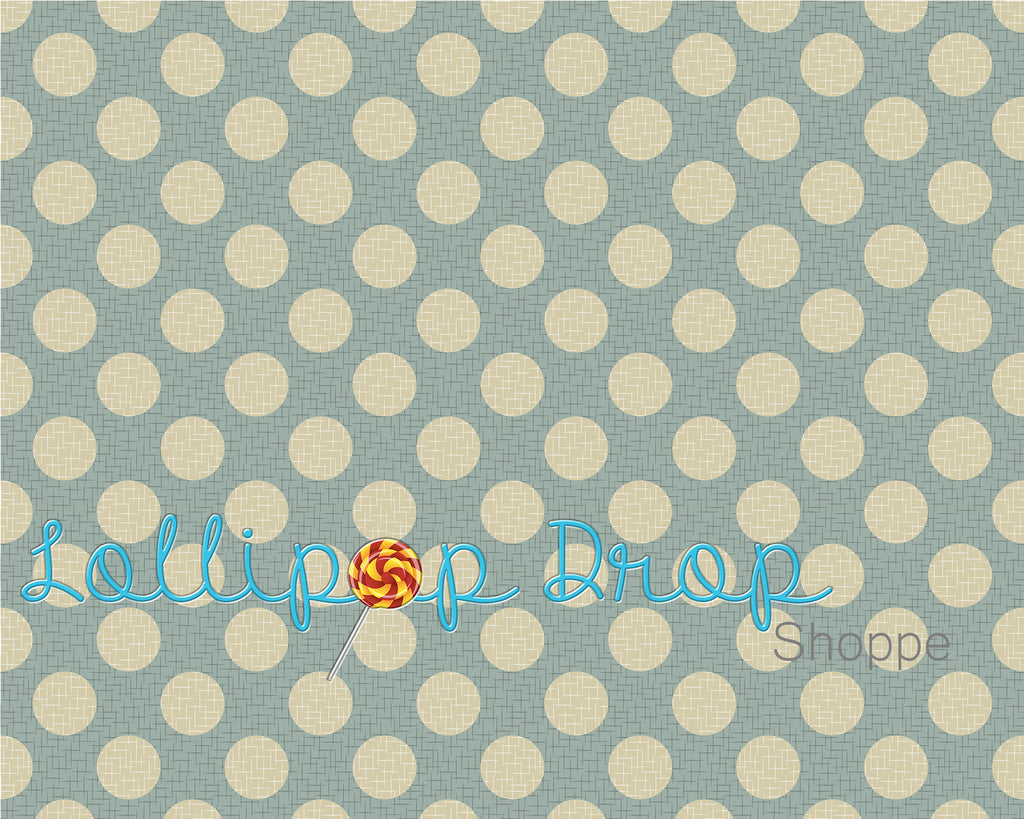Shabby Teal Dots - Backdrop Shop