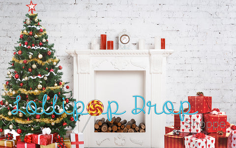Simple Christmas Fireplace