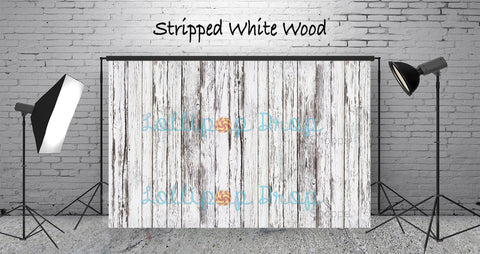 Stripped White Wood