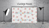 Vintage Roses - Backdrop Shop