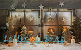 Wooden Christmas - Backdrop Shop