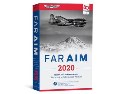 2020 FAR/AIM FORMATION PILOTE PRIVE VFR -IFR - PPL ASA