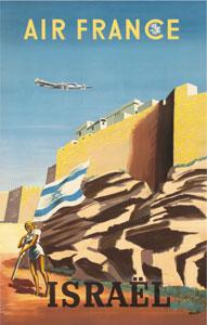 Affiche Musee Air France 50 cm x 70 cm 37 ISRAEL