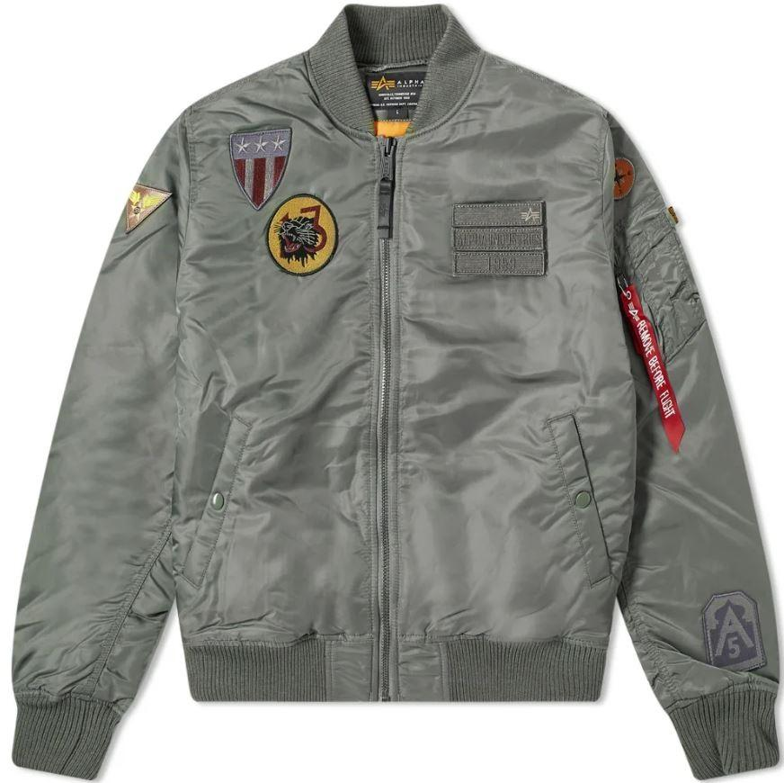 Blouson Bombers ALPHA INDUSTRIES MA-1 AIR FORCE