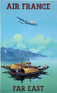Affiche Musee Air France 50 cm x 70 cm 044 EXTREME ORIENT