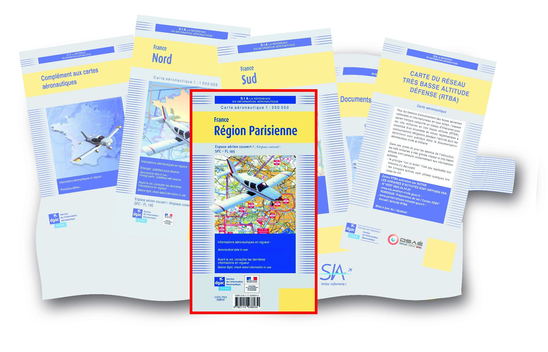 POCHETTE VFR + Région Parisienne 2020 DOCUMENTATIONS DU SIA SIA