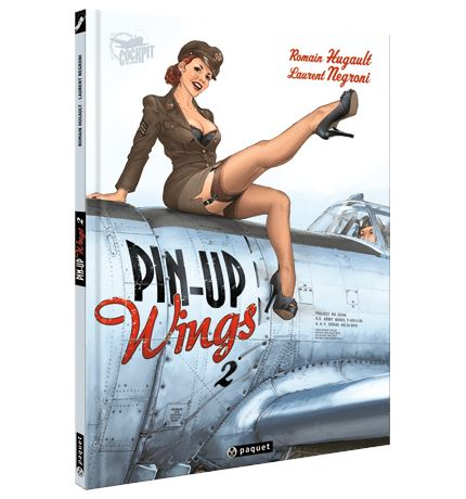 PIN UP WINGS 2 Bandes Dessinées Flammarion