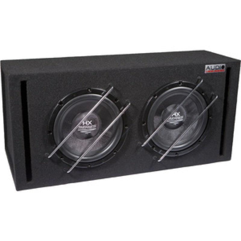 HX-Serie HIGH END Boom Box Subwoofer 2x30L bas reflex behuizing met HX10SQ, 2x 500/350W