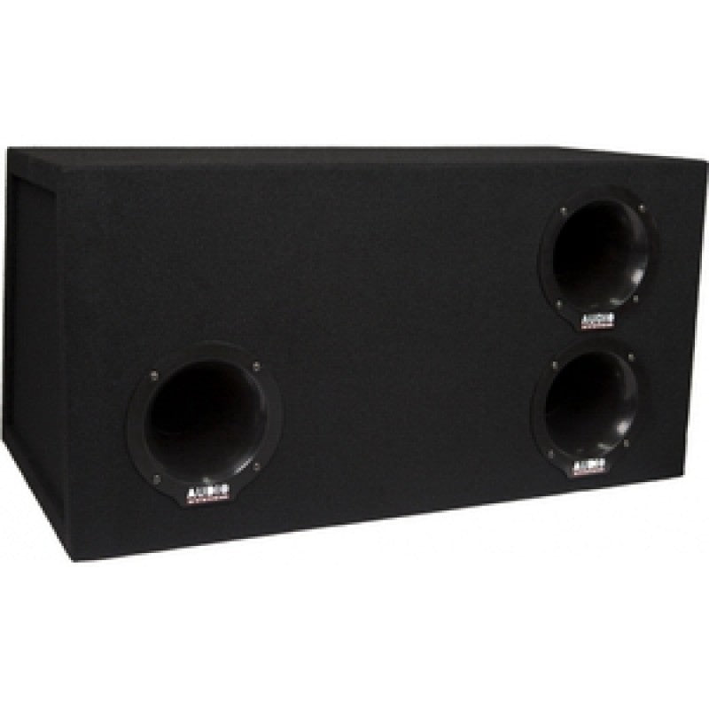 Helon-SERIE EXTREME Boom Box Subwoofer 75L bandpas behuizing met H12, 1600/1100W