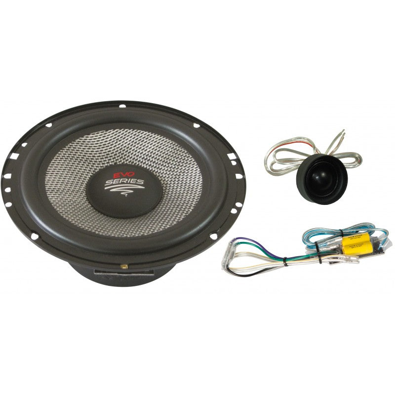 X--ion-SERIE 165 mm 2-Way Kickbass Compo Systeem. Easy Mounting