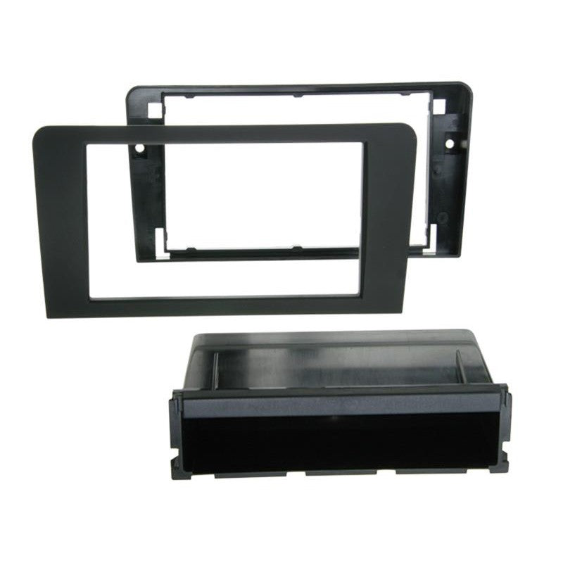 2-DIN paneel with pocket PRO Audi A3 (8P/8PA) zwart