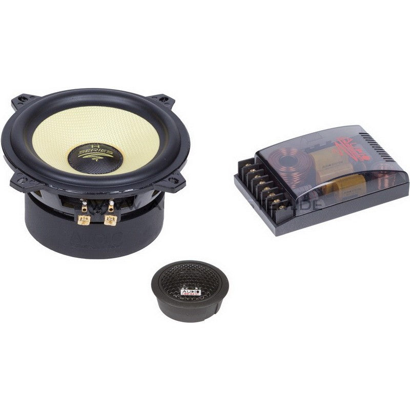 Helon-Serie 4-OHM 2-Way System 130 mm Extreme Kickbass Compo Systeem.