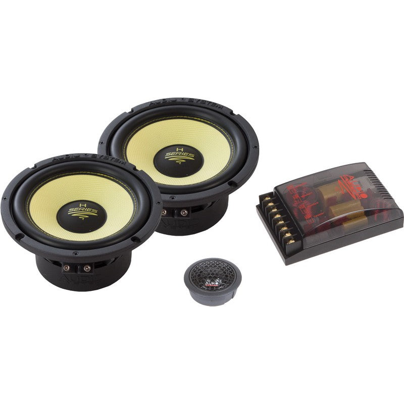Helon-Serie 2-OHM 2-Way Double Compo 165 mm Extreme Kickbass Compo Systeem.