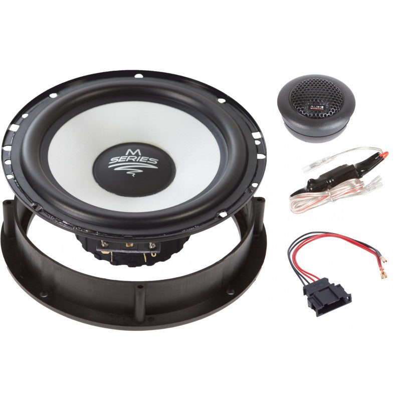 M-SERIE Front System 165 mm 2-way AUDI A3 2003-2012, A4 2001-2007,A6 1997-2011