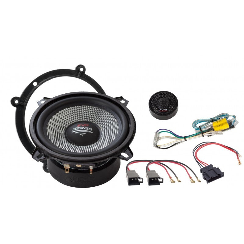 X--ion-SERIE Special Front System 130 mm 2-way AUDI A4 1994-2001 Compo System