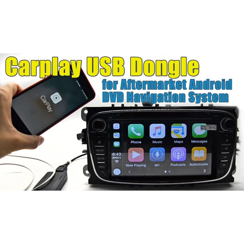 Carplay USB dongle voor aftermarket Android DVD navigatiesysteem