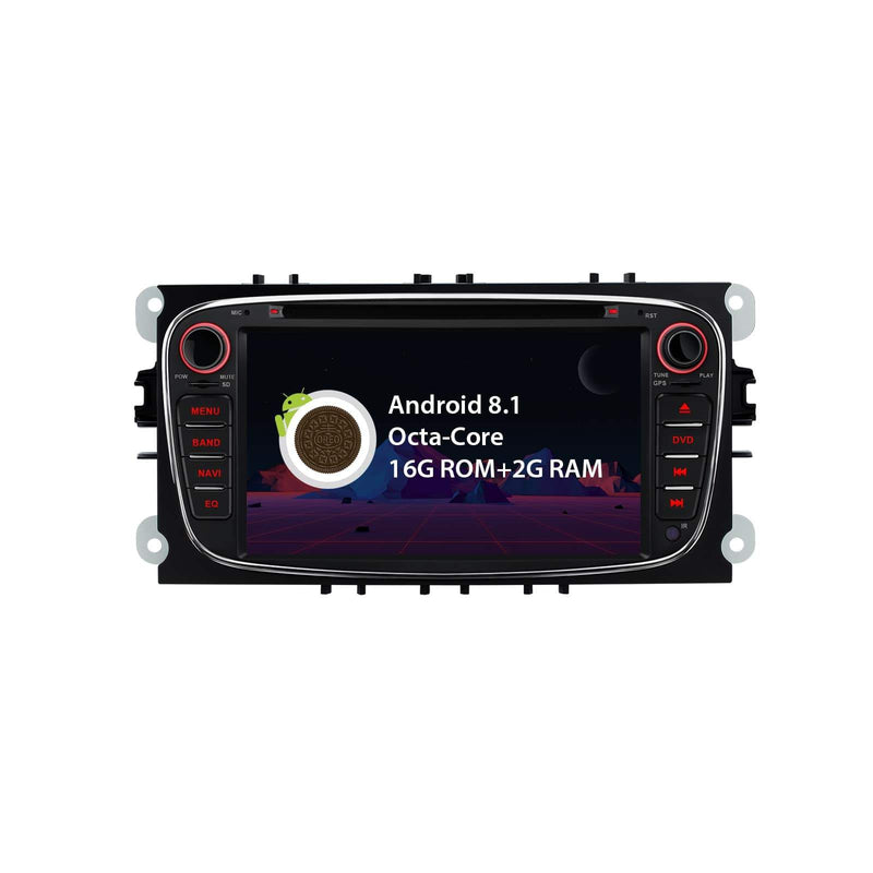 "Ford Android 8.1 Octa Core Navigatie 7 ""Smart Multimedia Player"