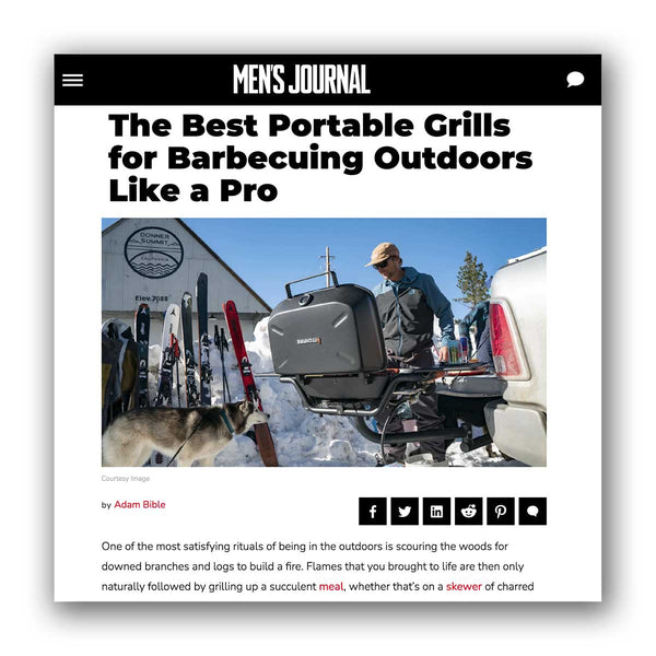Mens Journal. Best Portable Grills
