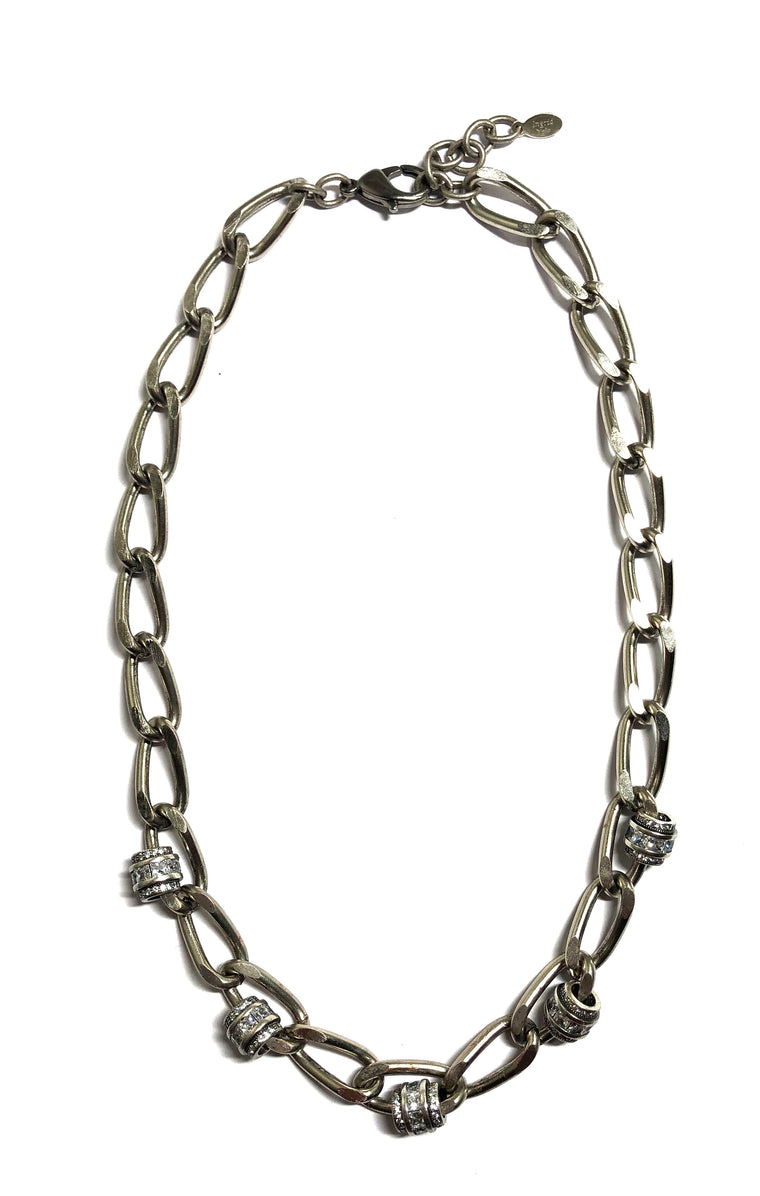 Studded Chain Necklace