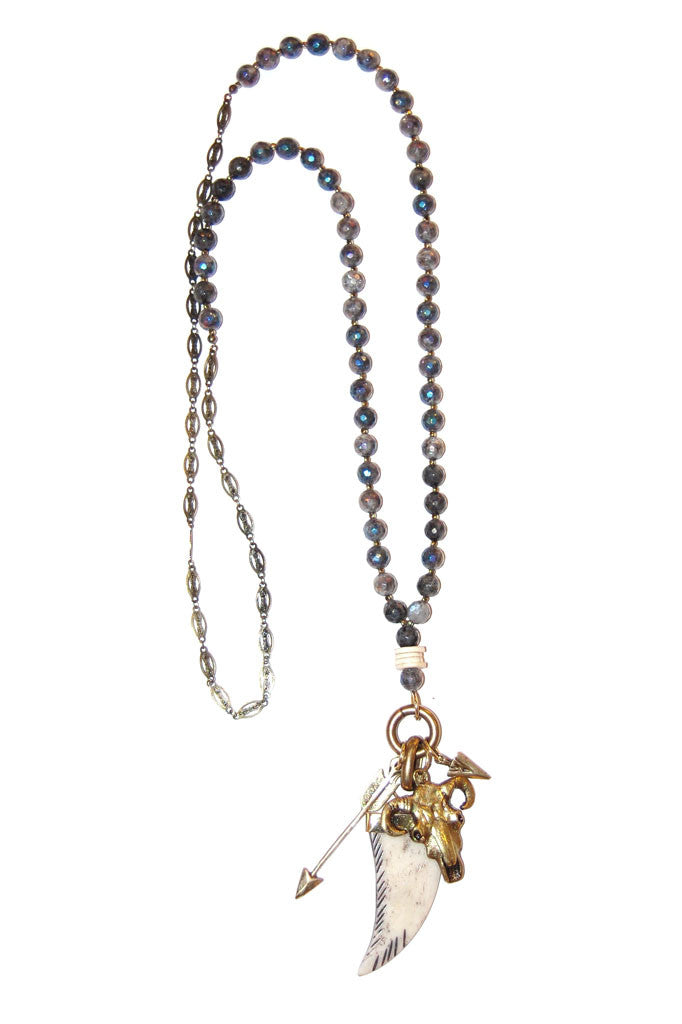 Labradorite Western Gypsy Necklace