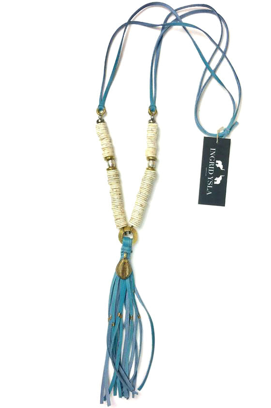 Blue Tulum Necklace
