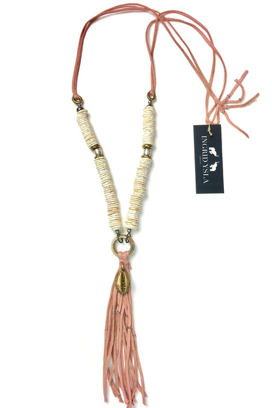Pink Tulum Necklace