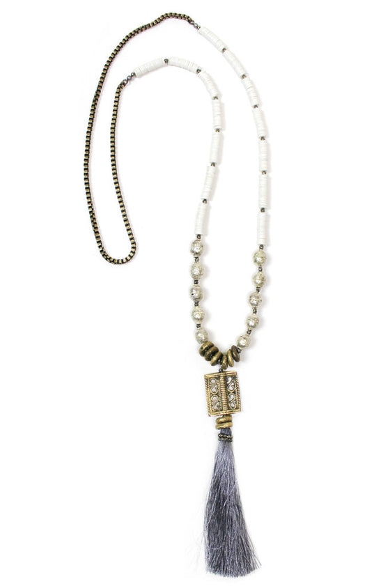 Tory Tassel Necklace
