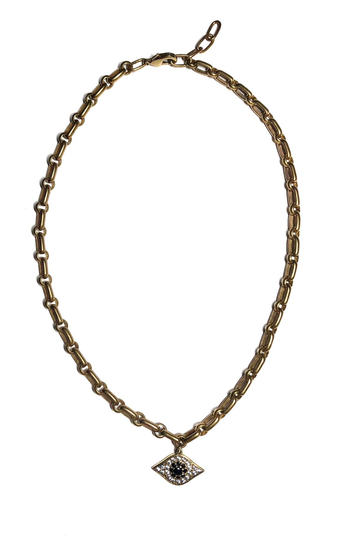 Single Chain Eye Necklace