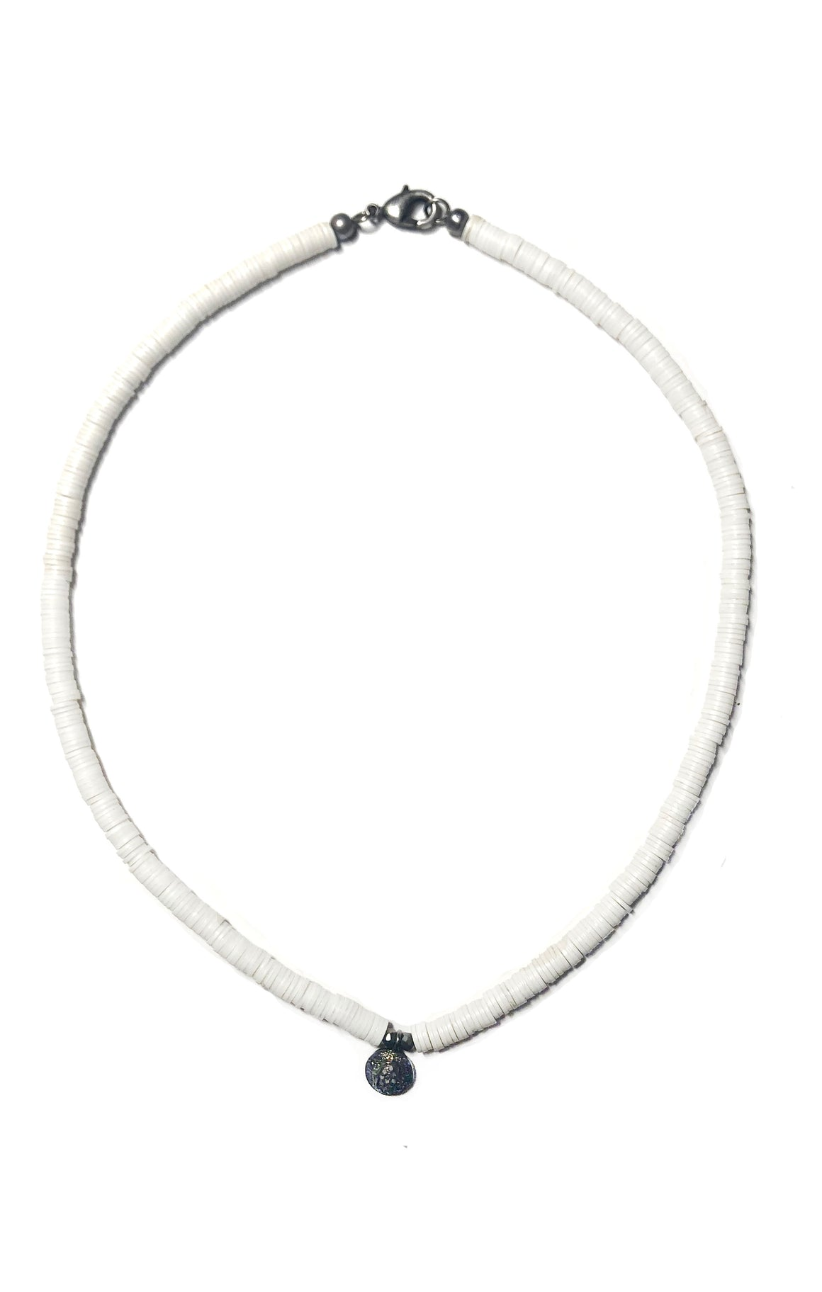 White African Vinyl Diamond Necklace