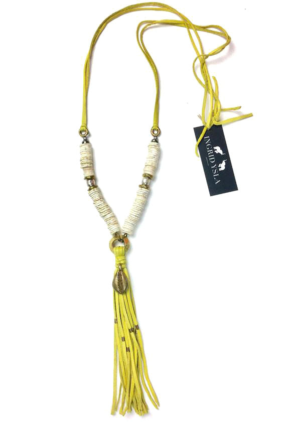Yellow Tulum Necklace