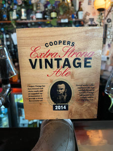 Coopers 2015 Vintage Extra Strong Ale 1lt Canimal