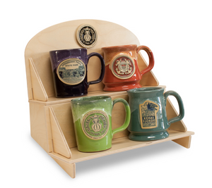 4-MUG BIRCH DISPLAY