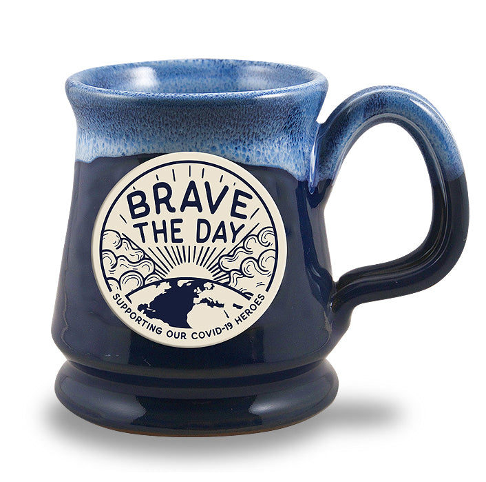 LIMITED EDITION - BRAVE THE DAY - HERO MUG