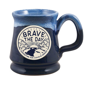 LIMITED EDITION - BRAVE THE DAY - HERO MUG & MASK