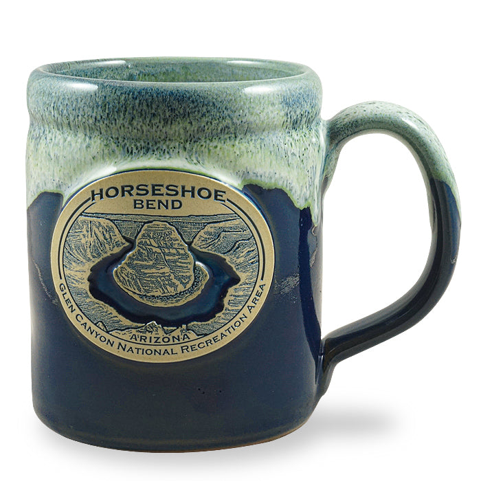 HORSESHOE BEND - CAMPER - NAVY W/KIWI WHITE
