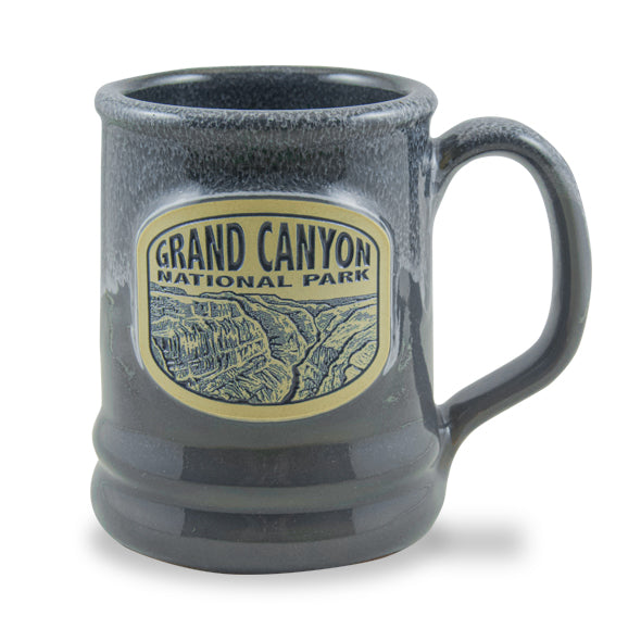 GRAND CANYON NATIONAL PARK - RAMSEY MUG 14+ OZ. GRAY W/BLACK