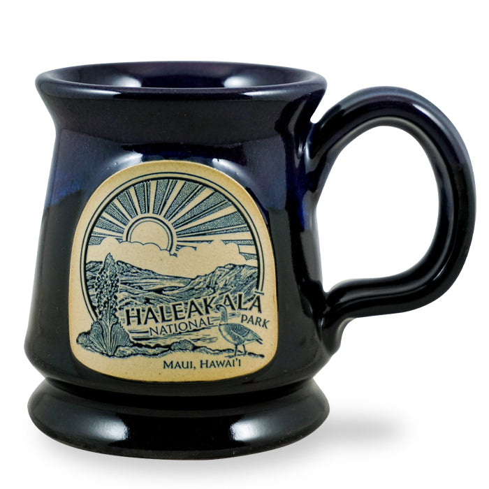 HALEAKALĀ NATIONAL PARK - FOOTED MUG - GALAXY