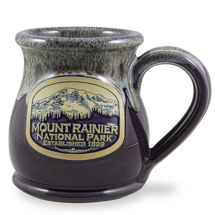 MOUNT RAINIER - MIDWAY - PLUM W/ SAND WHITE