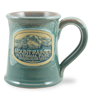 MOUNT RAINIER - STRAIGHT - LT. TEAL W/ROSE WHITE