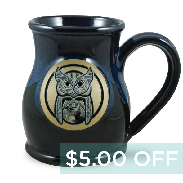 OWL MUG - TALL BELLY 14 OZ. - GALAXY
