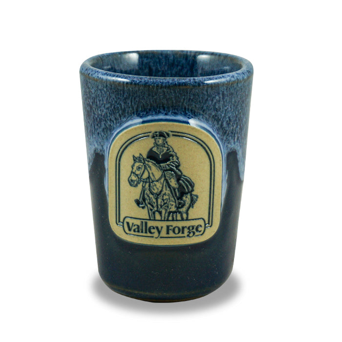VALLEY FORGE - SHOT GLASS - NAVY W/WHITE