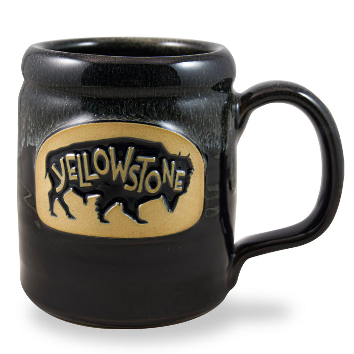 YELLOWSTONE BISON - CAMPER BLACK W/WHITE