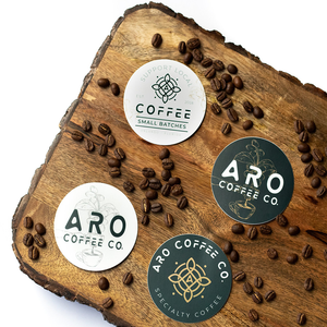 Aro Round Stickers