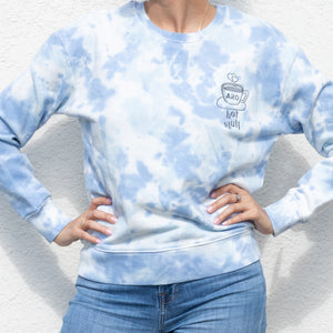Tie Dye Hot Stuff Sweater