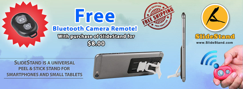 Free Bluetooth Remote Shutter!