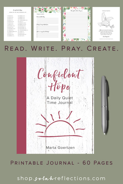 Printable Gratitude and Prayer Journal