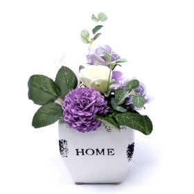Bouquet Petite Flower Pot - Pretty Abode UK