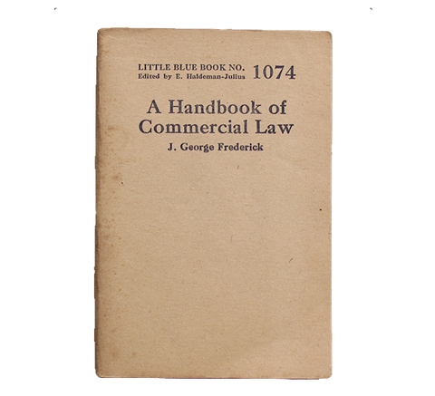 Handbook of Commercial Law